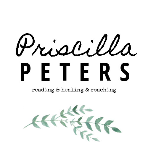 Priscilla Peters | reading | healing | coaching